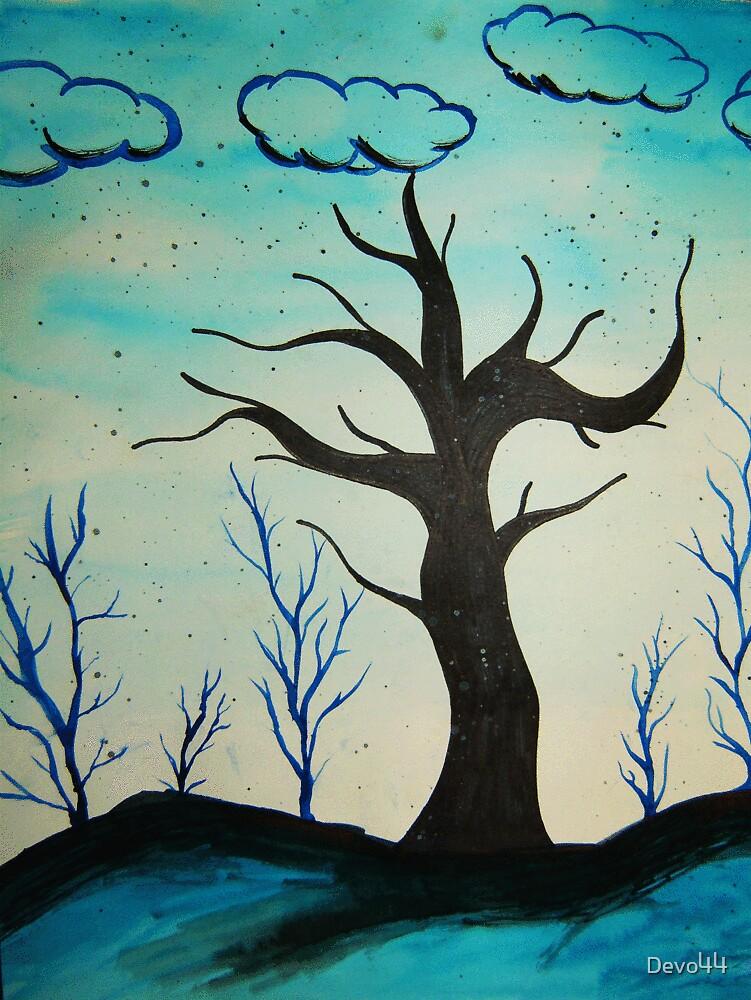 Blue Tree by Devo44