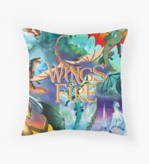 Wings of fire all dragon Throw Pillow