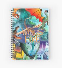 Wings of fire all dragon Spiral Notebook