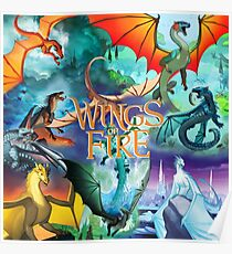 Wings of fire all dragon Poster