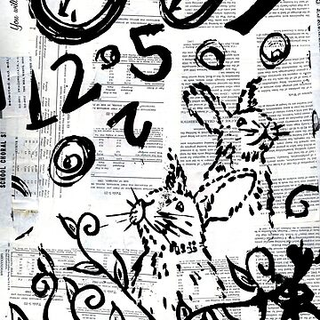 Rabbit in Time by missmann