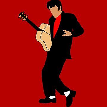 Elvis Presley Minimalist  by DHink182