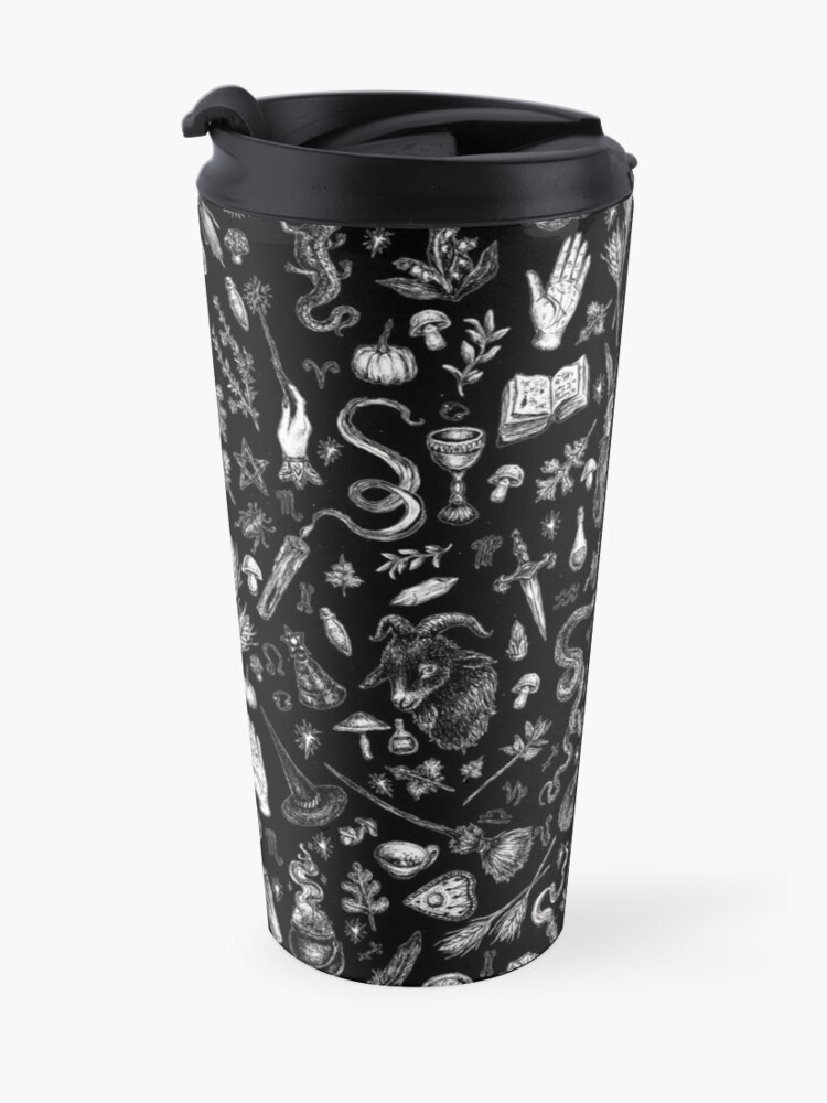 Alternate view of Salem Witch in Black Travel Mug