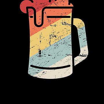Retro Craft Beer Lover / Homebrew Beer by EMDdesign