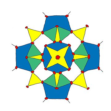 Bright Geometric Pattern by Devine-Studios