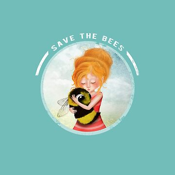 Save the Bees - Bee Hugger by jitterfly