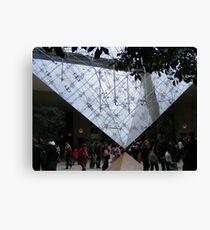La Pyramide Inversee Canvas Print