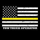 Dünne gelbe Linie Flag Tow Truck Operator von bluelinegear