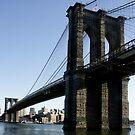 Brooklyn Bridge NY-City by Jean M. Laffitau