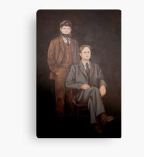 Dwight Schrute Painting Canvas Print
