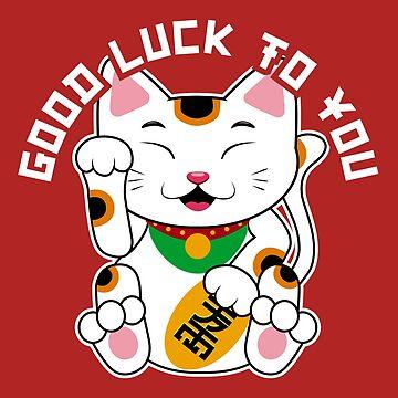 Good Luck Kitty by machmigo