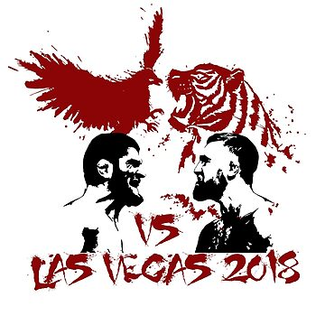 Khabib Vs Conor Design Fight Mma Las Vegas 2018 by kirillpanteleev