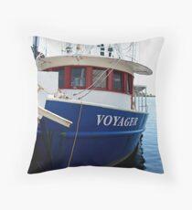 Patriotic Voyage Throw Pillow