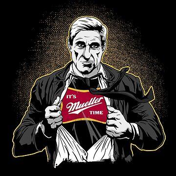 Super Mueller Its Mueller Time by japdua
