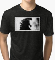 Camiseta de tejido mixto GOJIRA - GODZILLA - TOKYO ¡CUIDADO!