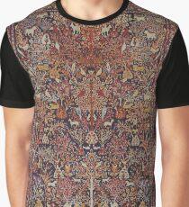 Persian Vintage Antique Carpet Nature Fine Art Graphic T-Shirt