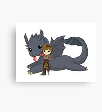How to train your dragon [Ultimate] Canvas Print