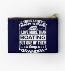 Funny I Love Being A Boating Grandpa Studio Pouch
