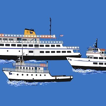 Block Island Ferry - THE FLEET by Deezer509