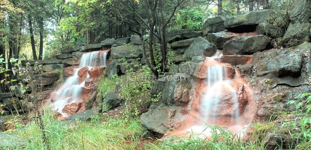 Water falls in HDR by Greg Boan