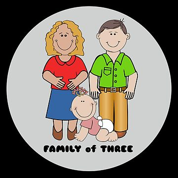 Family Of Three (Girl) by DogBoo