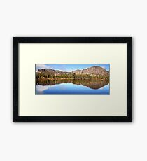 Pool of Siloam, Walls Of Jerusalem, Tasmania, Australia Framed Print