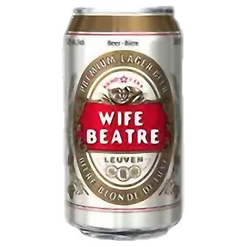 Wife Beatre Beater Stella Lager by Glyn123