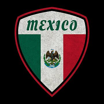 Mexico Coat of Arms vintage by Rocky2018