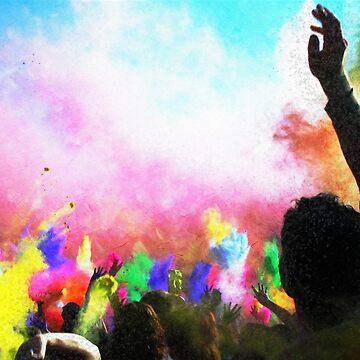 Holi Colors by Falln