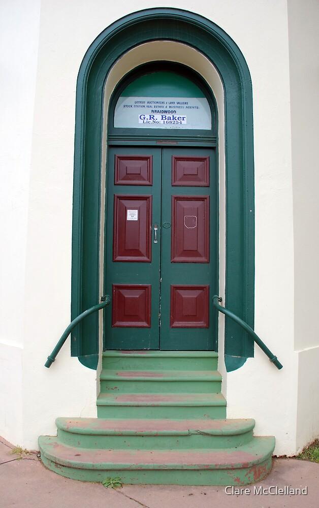Doorway , Braidwood, NSW by Clare McClelland