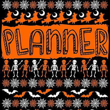 Cool Planner Ugly Halloween Gift t-shirt by BBPDesigns