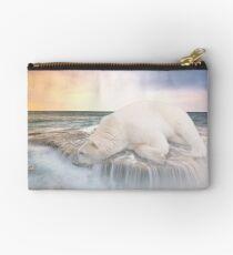 Polar Bear Sunset Coast Studio Pouch