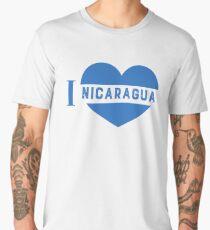 i love nicaragua Men's Premium T-Shirt