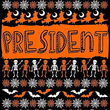 Cool President Ugly Halloween Gift t-shirt by BBPDesigns