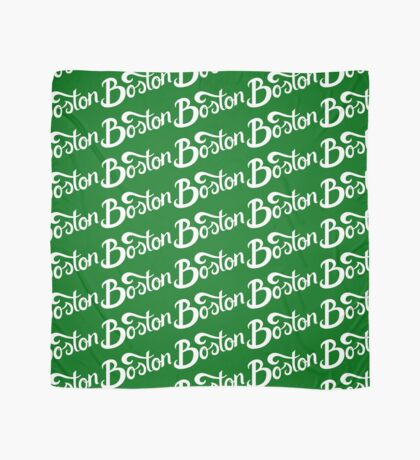Boston Hand Lettering Scarf