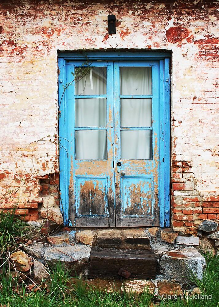 blue doors, braidwood, nsw by Clare McClelland