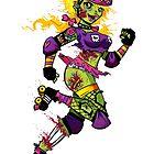 Zombie Derby Doll by Danielle Gransaull