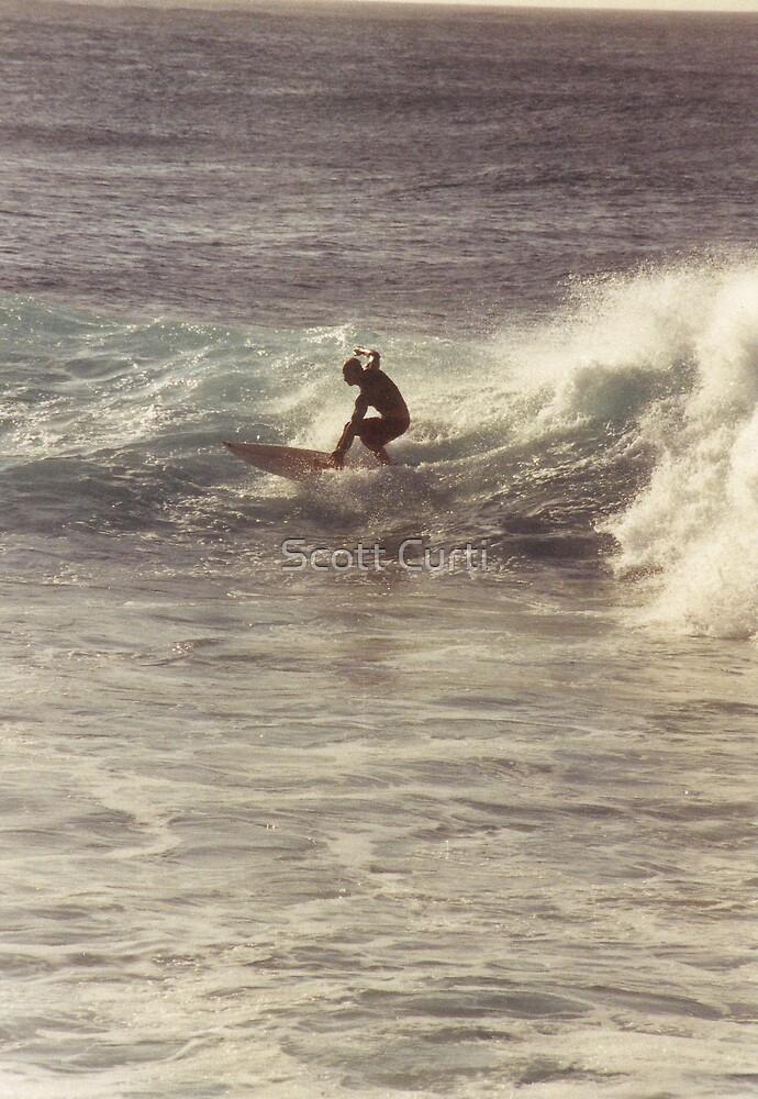 Surfs up Dude by Scott Curti