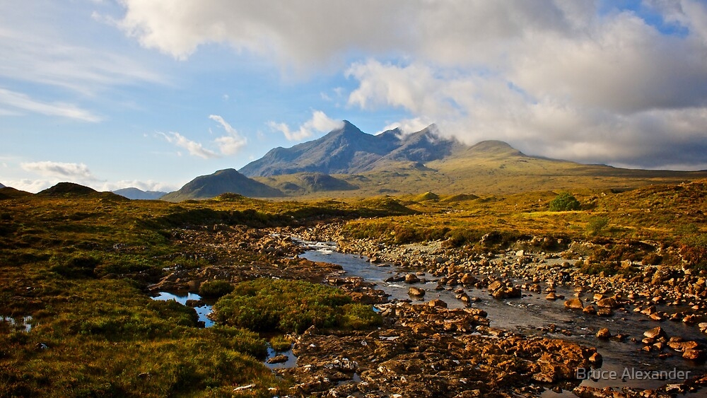 Cullin Mountains,Isle of Skye by Bruce Alexander