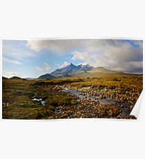 Cullin Mountains,Isle of Skye Poster