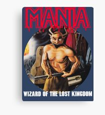 Mania Wizard of The Lost Kingdom Cover Canvas Print