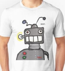 The 200% Podcast Robot t-shirt Unisex T-Shirt