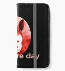 Bad Hare Day Mutant Bunny Baby Design iPhone Wallet/Case/Skin