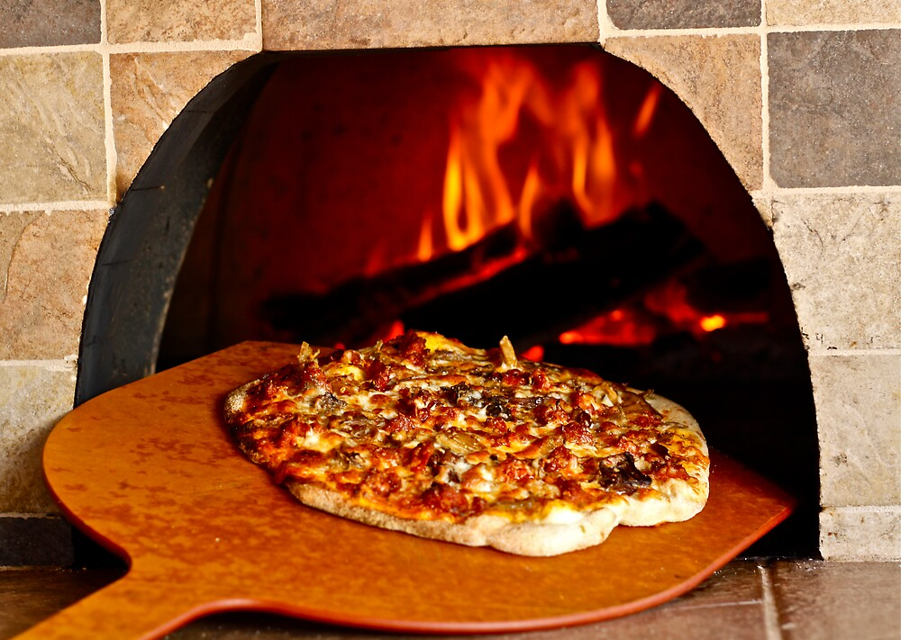 Pizza wood oven by Mario Alleyne