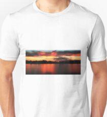 Sunrise at Webb lake T-Shirt