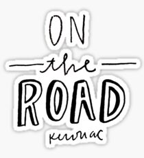 On the Road by Jack Kerouac Sticker