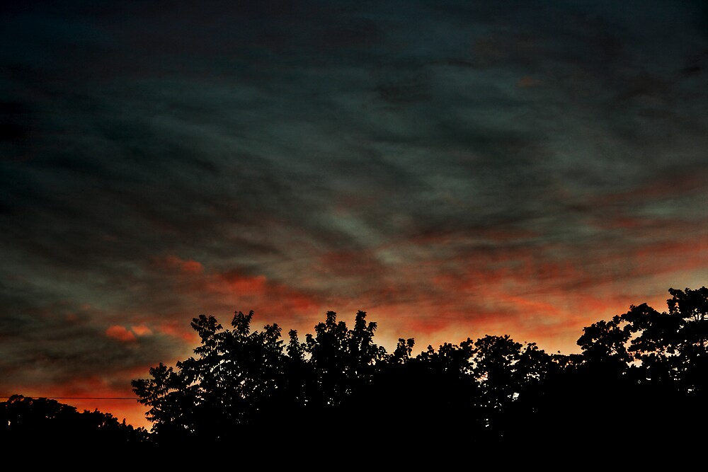 Burning Sky by netta43