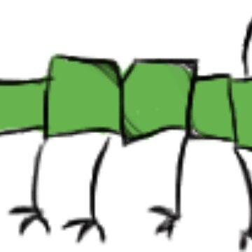 Weird Caterpillar  by BashsArt