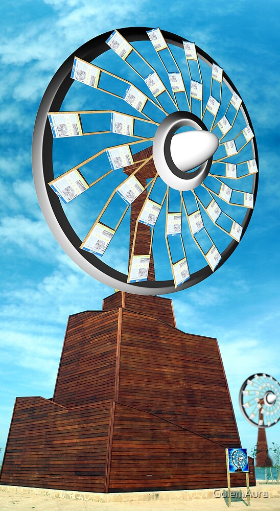 Space Age Windmill by GolemAura