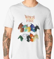 Wings of fire POV Characters Men's Premium T-Shirt